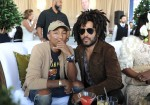 Pharrell Williams & Lenny Kravitz at the $16 Million Pegasus World Cup Invitational - Photo Credit World Red Eye