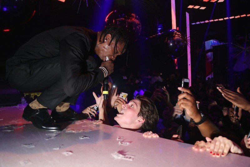 A$AP Rocky performing at LIV