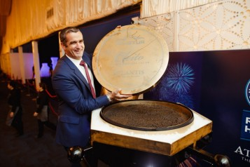 Sascha Triemer, Vice President for Food & Beverage at Atlantis, The Palm