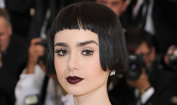 Lily Collins at the Met Gala 2017