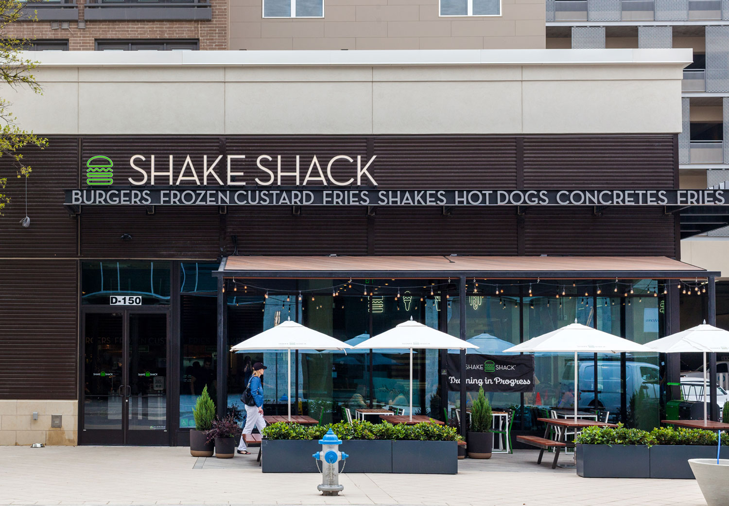 A Shake Shack in Texas