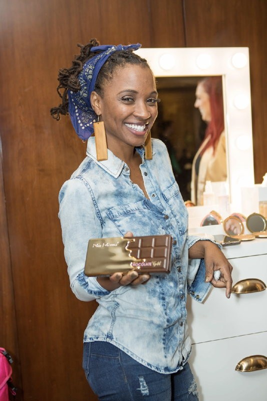 Shanola Hampton attends the GBK pre-Golden Globes Lounge