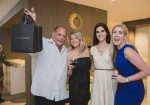 Steven G., Melissa Nelson, Erica Guzman, Courtney Greene at Auberge Beach Residences & Spa Fort Lauderdale's wine tasting hosted in partnership with David Yurman.