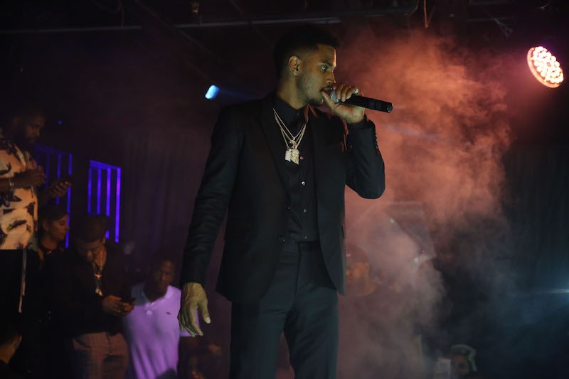 Trey Songz at Rockwell