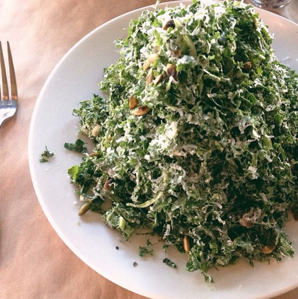 Trick Dog's kale salad