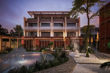 Unscripted Tulum Rendering