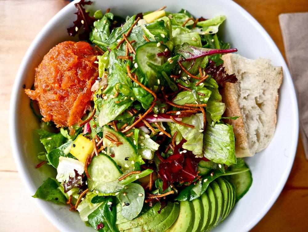 Blue Barn's spicy tuna salad