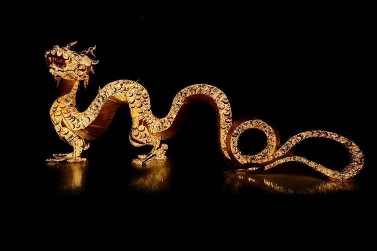City Center To Celebrate Chinese New Year With Colossal Opulent Dragon Sculpture