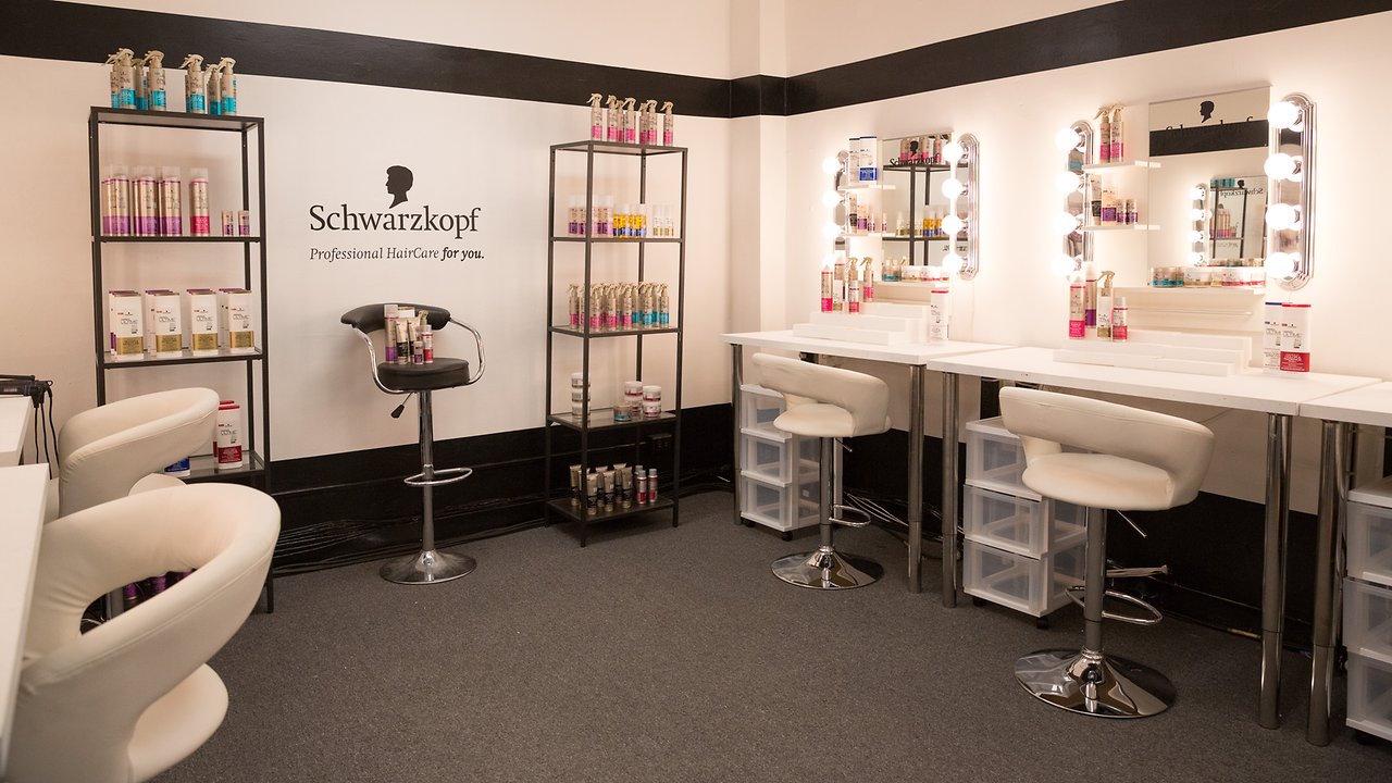 A Schwarzkopf Professional salon