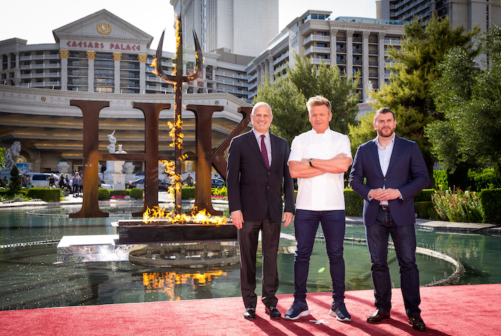 Gordon Ramsay Opens The First Hell's Kitchen Restaurant Concept
