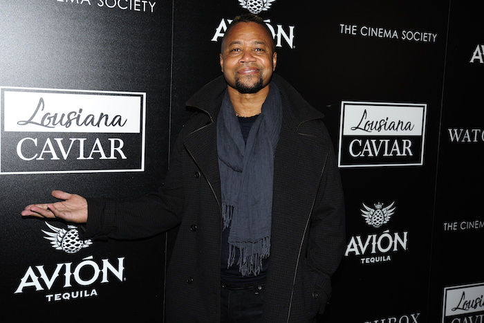 Cuba Gooding Jr. at Louisiana Caviar screening at iPic Cinema, NYC