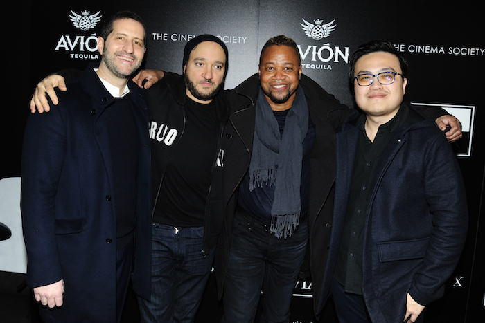 "Modi, Gregg Bello, Cuba Gooding Jr., Maxx Tsai join The Cinema Society with Avion and Watchbox at the screening of ""Louisiana Caviar"" at iPic Cinema, NYC"