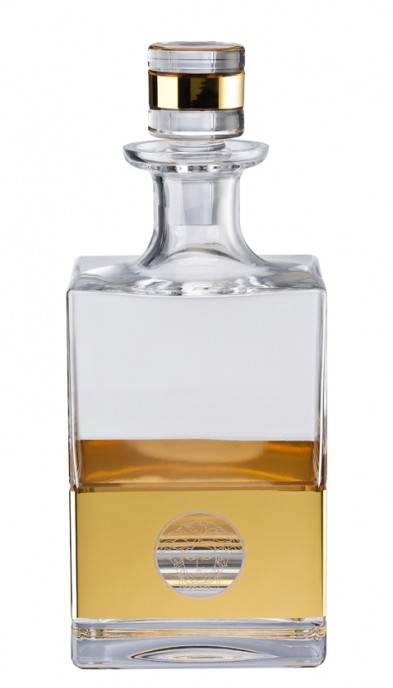Decanter, square | Medusa Madness Oro