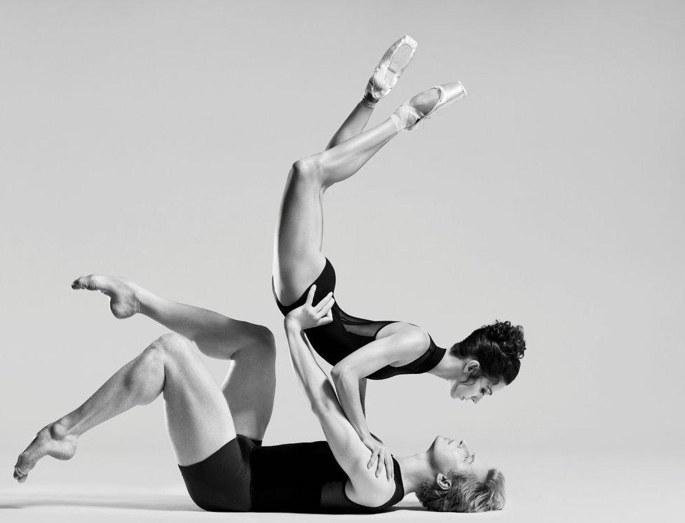 Principal dancers Tiit Helimets and Ana Sophia Scheller