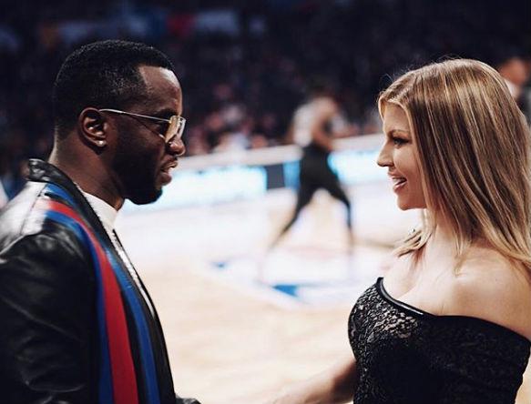 Fergie-Diddy-NBA-All-Star-Weekend