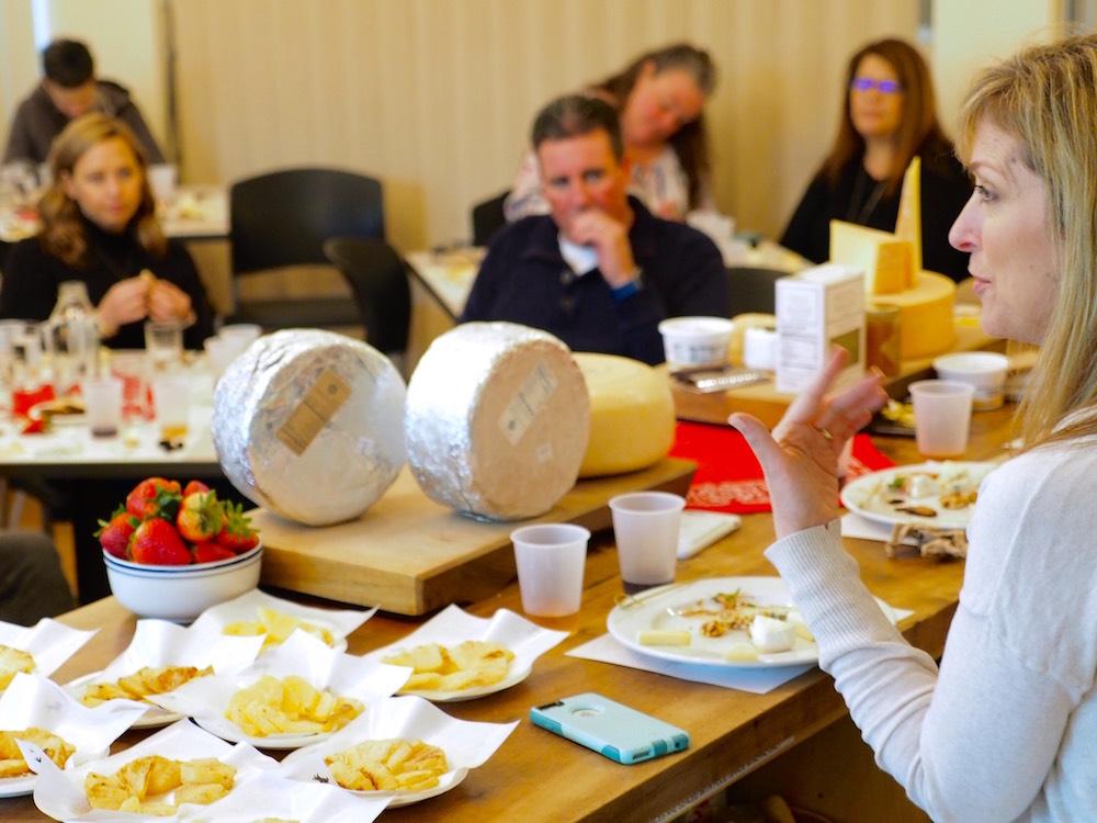 A seminar at the 2017 Artisan Cheese Festival