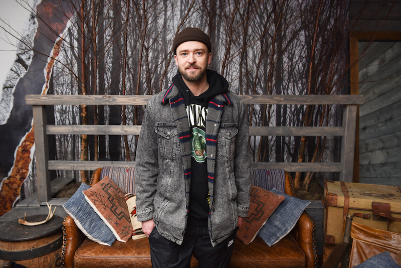 Justin Timberlake Hosts NYC Pop-Up For
