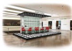 A rendering of the Prada pop-up at South Coast Plaza