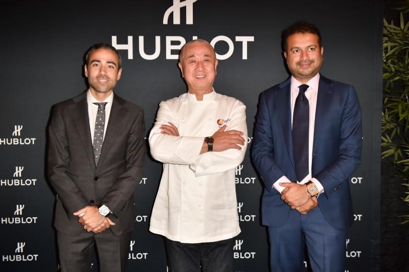 Jean Francois Sberro, Nobu and Kamal Hotchandani