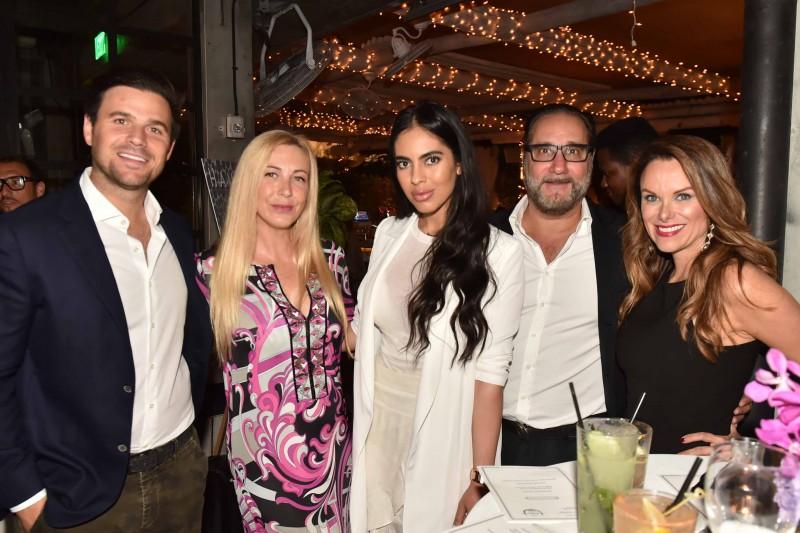 Daniel De La Vega, Angela Birdman, Deyvanshi Masrani, Louis Birdman and Nirka Burns