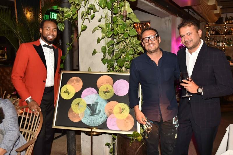 Josh Norman, Shawn Kolodny and Kamal Hotchandani