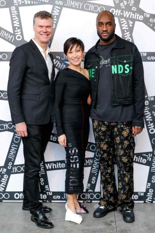 Pierre Denis, Sandra Choi, + Virgil Abloh