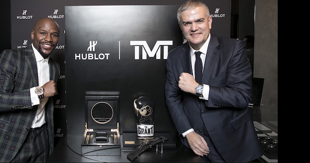 "Hublot Launches Big Bang Unico TMT With Floyd ""Money"" Mayweather"