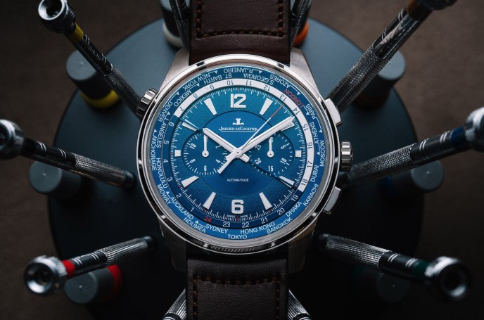 Jaeger-LeCoultre Polaris Chronograph World-Time
