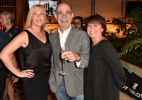 Angela Birdman with Alan and Ruth Zelcer