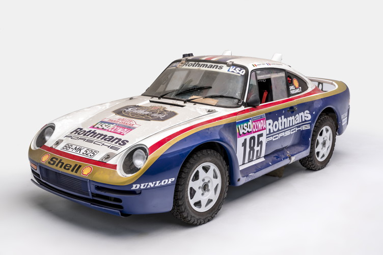 1985 959 Paris-Dakar, Chassis 010014