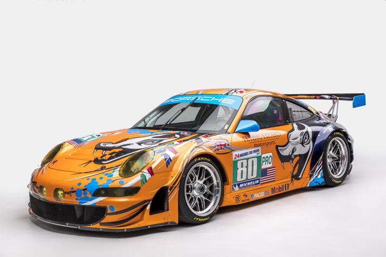 2009 997 RSR Art Car