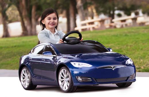 Radio Flyer And Tesla Create A Kids Tesla Model S