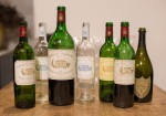 A collection of the wines poured at the tasting