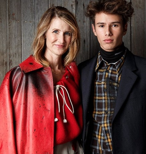 The Story of Why Lauren Dern's Son Turned Down Calvin Klein Ellery Harper
