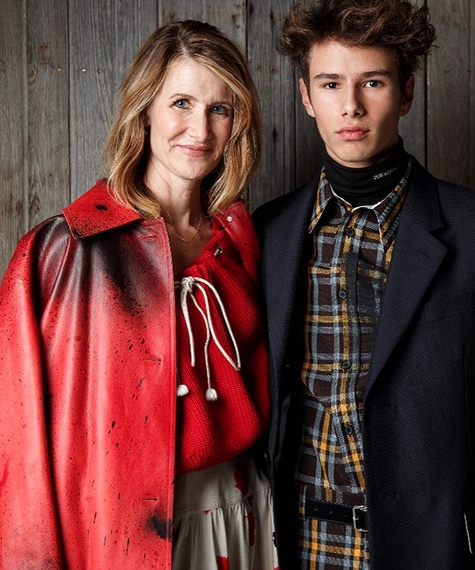 Introducing Laura Dern's Son, The Model You'll Soon See Everywhere