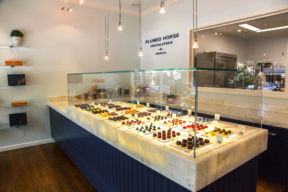 The modern chocolate shop