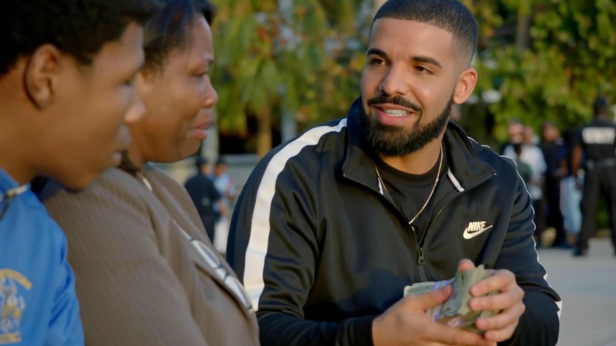 Drake God's Plan Haute Living Tita Carra