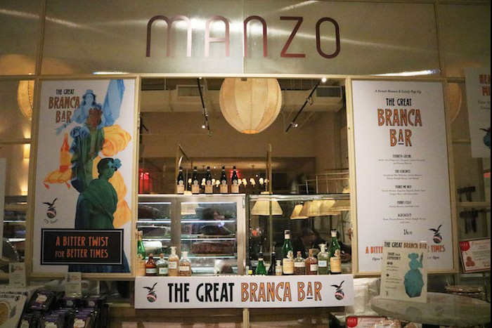 The Great Branca Bar at Eataly Flatiron