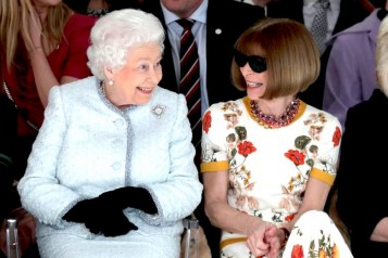 Queen Elizabeth II Anna Wintour Richard Quinn Haute Living Tita Carra