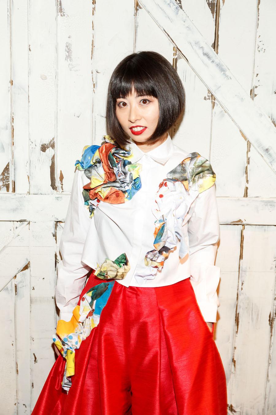 Yuka Uehara wearing Tokyo Gamine
