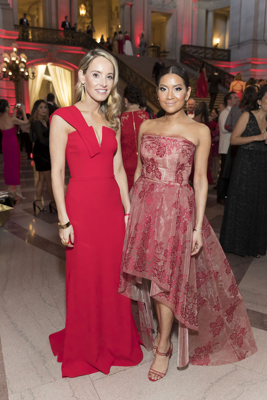 Gala co-chairs Lindsey Haswell and Lillian Phan