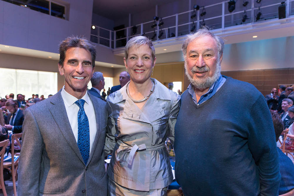 Mark Leno, Roxanne Richards and Steve Silberstein