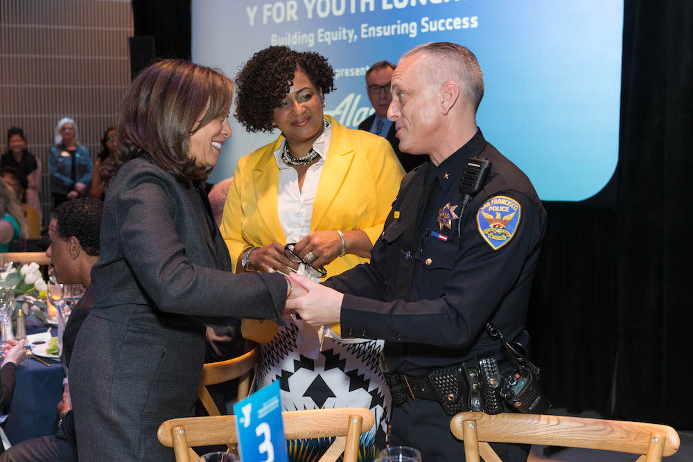Senator Kamala Harris, Gina Fromer and David Lazar