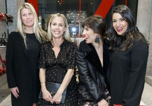 SAN FRANCISCO, CA - March 8 -  Sarah Wendell, Casey McDevitt, Gigi Dalla Gasperina and Mariana Wall attend Valentino and SFMOMA Modern Ball 2018 Kick Off Party on March 8th 2018 at Valentino in San Francisco, CA (Photo - Drew Altizer)