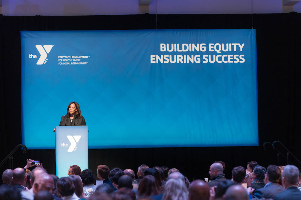 Senator Kamala Harris attends Y for Youth Luncheon on March 9th 2018 at Yerba Buena Center for the Arts in san francisco, CA (Photo - )