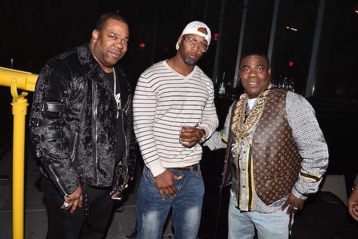 Busta Rhymes, 9th Prince, & Tracy Morgan