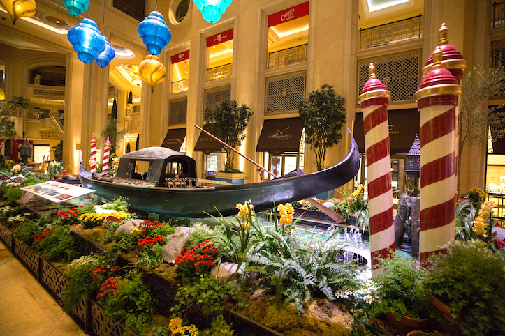 The Venetian and The Palazzo Gondola The Second Historic Venetian 1850 Gondola On Display In America Haute Living Tita Carra