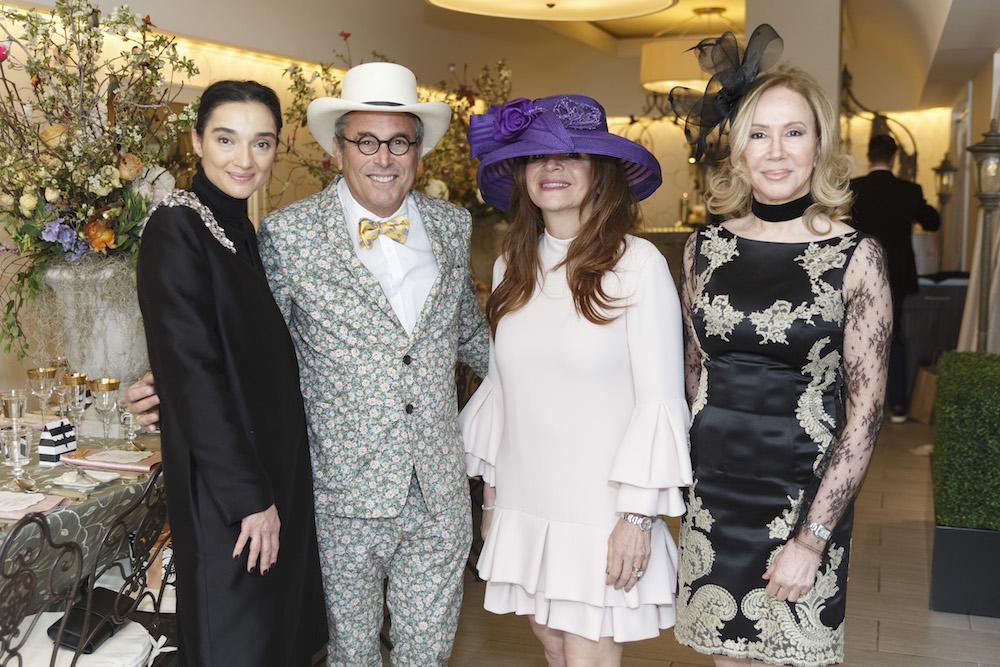 Olga Dubrovsky, Ricky Serbin, Farah Makras and Sophie Azouaou
