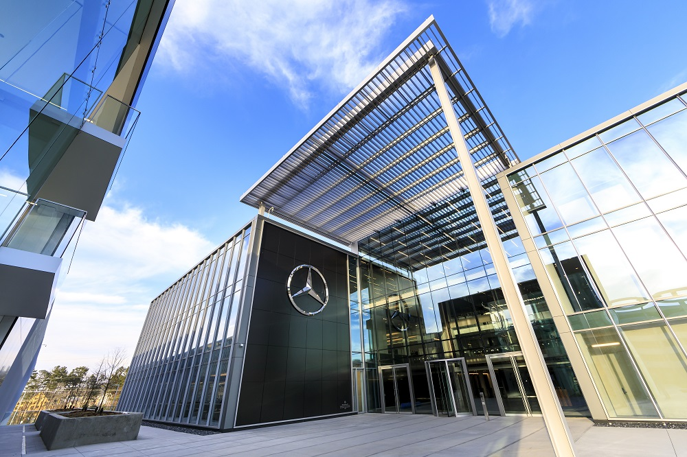 General Images Of The New Mercedes Benz USA Corporate Headquarters On March  15, 2019