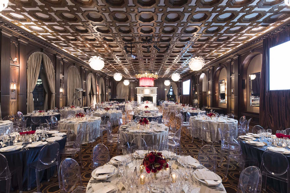 The setting of the 2017 Red Cross Gala, which took place at the Julia Morgan Ballroom